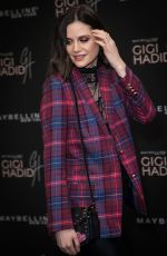 LILAH PARSONS at Gigi Hadid x Maybelline Party in London 11/07/2017