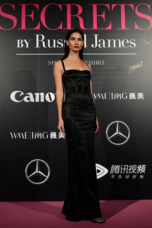 LILY ALDRIDGE at Mercedes-Benz Backstage Secrets in Shanghai 11/18/2017