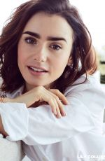 LILY COLLINS for Lancome 2017 Ad Campaign