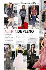 LILY COLLINS in Stilo Magazine, Spain December 2017 Issue