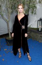 LILY JAMES at Edward Enninful Dinner Celebrating British Vogue