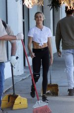 LINDSAY ARNOLD Arrives at a DWTS Rehersal in Los Angeles 11/15/2017