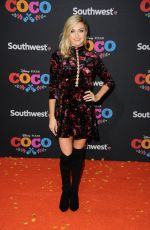LINDSAY ARNOLD at Coco Premiere in Los Angeles 11/08/2017