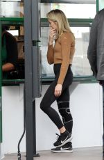 LINDSAY ARNOLD Heading to Dancing with the Stars Studios in Los Angeles 11/16/2017