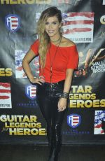 LINDSEY ELL at Guitar Legends for Heroes Benefit in New York 11/29/2017
