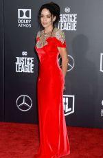 LISA BONET at Justice League Premiere in Los Angeles 11/13/2017