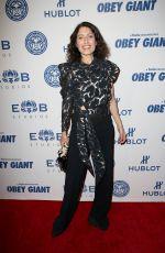 LISA EDELSTEIN at Elysium Bandini Studios Presents Obey Giant in Los Angeles 11/07/2017