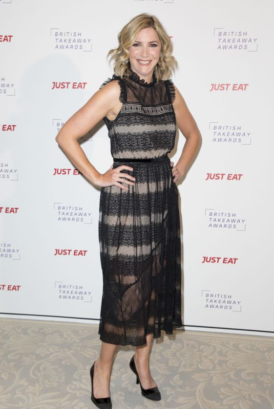 LISA FAULKNER at British Takeaway Awards 11/27/2017