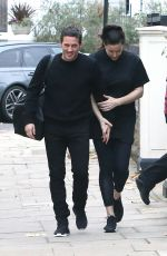 LIV TYLER and Dave Gardner Out in London 11/25/2017