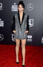 LIZA KOSHY at Justice League Premiere in Los Angeles 11/13/2017