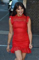 LIZZIE CUNDY Leaves ITV Studios in London 11/13/2017