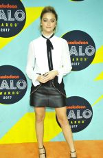 LIZZY GREENE at Nickelodeon Halo Awards in New York 11/04/2017