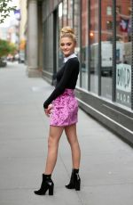 LIZZY GREENE Leaves AOL Build Series in New York 11/06/2017