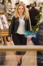 LORNA FITZGERALD Shopping at Victoria