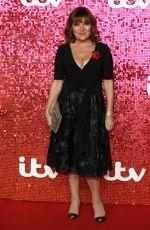 LORRAINE KELLY at ITV Gala Ball in London 11/09/2017