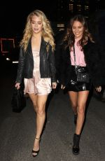 LOTTIE MOSS and EMILY BLACKWELL at Jimmy Choo x Annabel's Party in London 11/08/2017