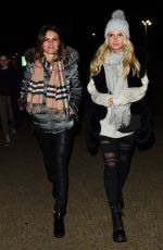 LOTTIE MOSS and EMILY BLACKWELL at Winter Wonderland at Hyde Park in London 11/16/2017