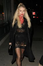 LOTTIE MOSS and Valentine Sorbilz Arrives at Fran Cutler Halloween Party in London 11/01/2017