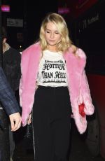 LOTTIE MOSS at MTV v Skinny Dip Launch Party in London 11/20/2017