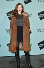 LOU HAYTER at Skate at Somerset House VIP Launch Party in London 11/14/2017