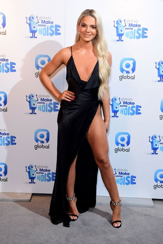 LOUISA JOHNSON at Make Some Noise Night in London 11/23/2017