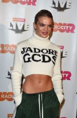 LOUISA JOHNSON at Radio City Christmas Live 2017 Gig in Liverpool 11/10/2017