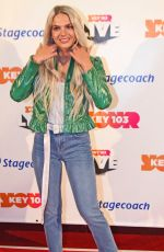 LOUISA JOHNSON Performs at Key 103 Live 2017 in Manchester 11/09/2017