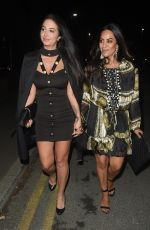 TULISA CONTOSTAVLOS and SEEMA MALHOTRA Night Out in Manchester 11/03/2017