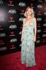 LUCIA SILVA at Telemundo's Senora Acero La Coyote Premiere in Florida 11/06/2017