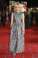 LUCY BOYNTON at Murder on the Orient Express Premiere in London 11/02/2017