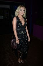 LUCY FALLON at Ray Darcy Show in Dublin 11/25/2017