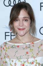 LUCY FAUST at Mudbound Premiere in Los Angeles 11/09/2017