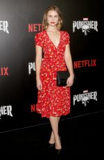 LUCY FRY at The Punisher TV Show Premiere in New York 11/06/2017