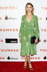 LUCY FRY at Thumper Premiere in Los Angeles 10/30/2017