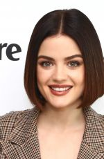 LUCY HALE and Avon Host #beautyboss Luncheon with Marie Claire Magazine in New York 11/13/2017