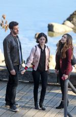 LUCY HALE on the Set of Life Sentence in Vancouver 11/01/2017