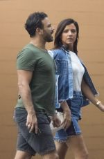LUCY MECKLENBURGH and Ryan Thomas Out for Lunch in Melbourne 11/24/2017