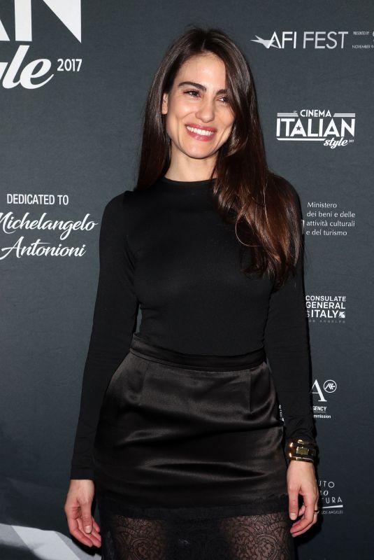 LUISA MORAES at a Ciambra Screening at Cinema Italian Style in Los Angeles 11/16/2017