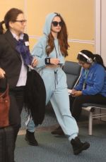 MADELAINE PETSCH Arrives at Airport in Vancouver 11/18/2017