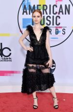 MADELAINE PETSCH at American Music Awards 2017 at Microsoft Theater in Los Angeles 11/19/2017