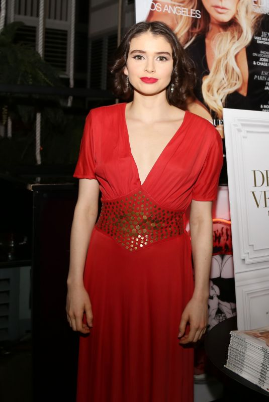 MADELEINE COGHLAN at Eden Sassoon`s LA Cover Party 11/02/2017