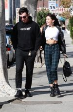 MADISON BEER Out and About in Los Angeles with New Boyfriend 11/03/2017