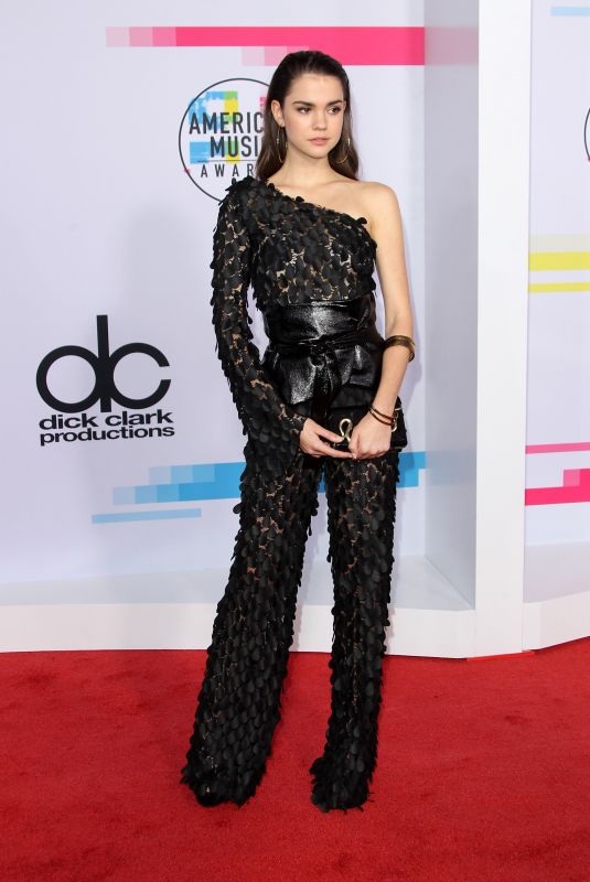 MAIA MITCHELL at American Music Awards 2017 at Microsoft Theater in Los Angeles 11/19/2017
