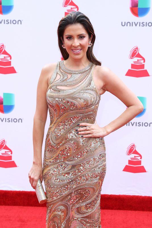 MAITY INTERIANO at Latin Grammy Awards 2017 in Las Vegas 11/16/2017