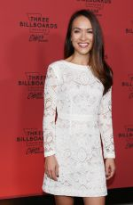 MALAYA RIVERA at Three Billboards Outside Ebbing, Missouri Premiere in Los Angeles 11/03/2017