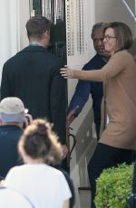 MANDY MOORE on the Set of This Is Us in Los Angeles 11/20/2017