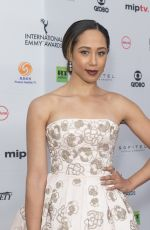 MARGOT BINGHAM at 2017 International Emmy Awards in New York 11/20/2017