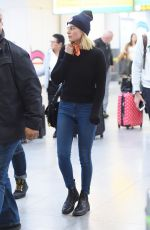 MARGOT ROBBIE at JFK Airport in New York 11/26/2017
