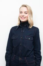 MARGOT ROBBIE at New York Times Presents Screentimes I, Tonya Discussion in New York 11/29/2017