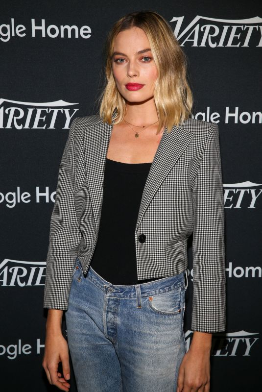 MARGOT ROBBIE at Variety